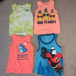 Toddler Boy Summer Tanks